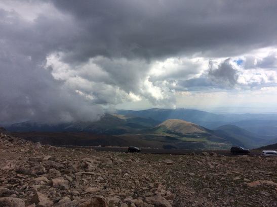 Mt Evans summit
